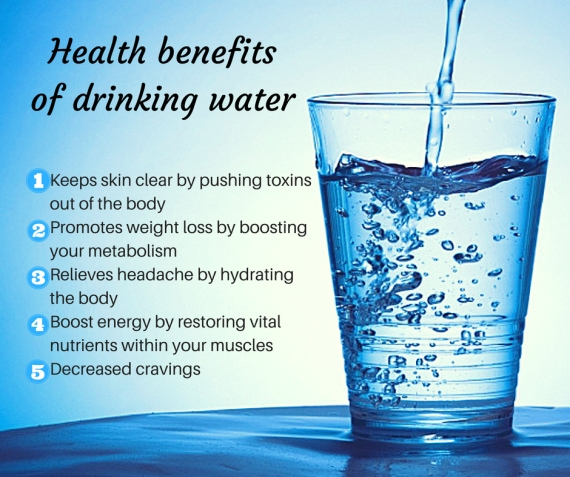 Health benefits of drinking